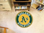 "Oakland Athletics 27"" Roundel Mat"