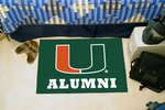 University of Miami Alumni Starter Rug