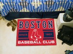 Boston Red Sox Baseball Club Starter Rug