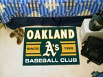 Oakland Athletics Baseball Club Starter Rug