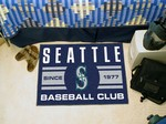 Seattle Mariners Baseball Club Starter Rug