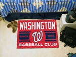 Washington Nationals Baseball Club Starter Rug