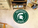 "Michigan State University Spartans 27"" Roundel Mat"