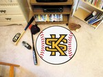 Kennesaw State University Owls Baseball Rug - KS Logo