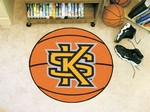 Kennesaw State University Owls Basketball Rug - KS Logo