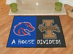 Boise State Broncos - Idaho Vandals House Divided Rug