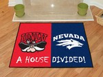 UNLV Rebels - Nevada Wolf Pack House Divided Rug