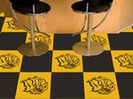 Arkansas - Pine Bluff Golden Lions Carpet Floor Tiles
