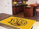 University of Arkansas at Pine Bluff Golden Lions 5x8 Rug