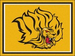University of Arkansas at Pine Bluff Golden Lions 8'x10' Rug