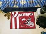 Arkansas Razorbacks Starter Rug - Uniform Inspired