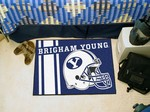 Brigham Young Cougars Starter Rug - Uniform Inspired