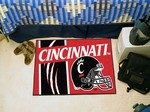 Cincinnati Bearcats Starter Rug - Uniform Inspired