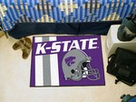 Kansas State Wildcats Starter Rug - Uniform Inspired