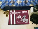 Mississippi State Bulldogs Starter Rug - Uniform Inspired