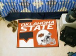 Oklahoma State Cowboys Starter Rug - Uniform Inspired