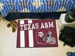 Texas A&M Aggies Starter Rug - Uniform Inspired