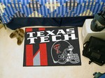 Texas Tech Red Raiders Starter Rug - Uniform Inspired
