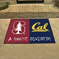 Stanford Cardinal - Cal Golden Bears House Divided Rug