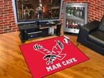Eastern Washington Eagles All-Star Man Cave Rug - Red