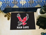 Eastern Washington Eagles Man Cave Starter Rug - Black