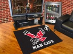 Eastern Washington Eagles All-Star Man Cave Rug - Black