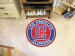 "Los Angeles Clippers 27"" Roundel Mat"