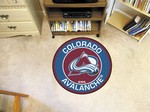 "Colorado Avalanche 27"" Roundel Mat"