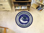 "Vancouver Canucks 27"" Roundel Mat"