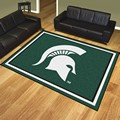 Michigan State University Spartans 8'x10' Rug