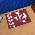 Texas A&M University Aggies 12th Man Starter Rug