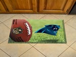 "Carolina Panthers Scraper Floor Mat - 19"" x 30"""