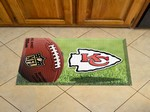 "Kansas City Chiefs Scraper Floor Mat - 19"" x 30"""