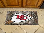 "Kansas City Chiefs Scraper Floor Mat - 19"" x 30"" Camo"