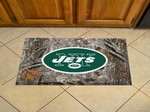 "New York Jets Scraper Floor Mat - 19"" x 30"" Camo"