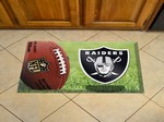 "Oakland Raiders Scraper Floor Mat - 19"" x 30"""