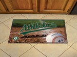 "Oakland Athletics Scraper Floor Mat - 19"" x 30"""