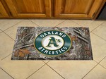 "Oakland Athletics Scraper Floor Mat - 19"" x 30"" Camo"