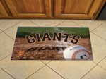 "San Francisco Giants Scraper Floor Mat - 19"" x 30"""