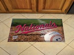 "Washington Nationals Scraper Floor Mat - 19"" x 30"""