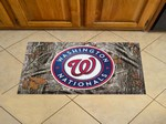 "Washington Nationals Scraper Floor Mat - 19"" x 30"" Camo"