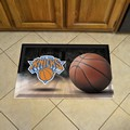 "New York Knicks Scraper Floor Mat - 19"" x 30"""
