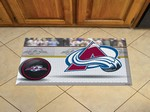 "Colorado Avalanche Scraper Floor Mat - 19"" x 30"""