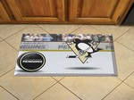 "Pittsburgh Penguins Scraper Floor Mat - 19"" x 30"""