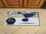 "St. Louis Blues Scraper Floor Mat - 19"" x 30"""