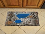 "St. Louis Blues Scraper Floor Mat - 19"" x 30"" Camo"