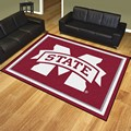Mississippi State University Bulldogs 8'x10' Rug