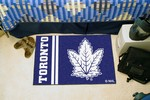 Toronto Maple Leafs Starter Rug - Uniform Inspired