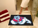 Fresno State Bulldogs All-Star Rug - Black