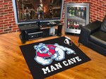 Fresno State Bulldogs All-Star Man Cave Rug - Black